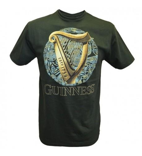 Bottle Guinness T Shirt Design Celtic