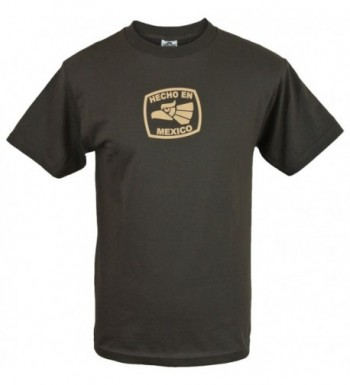 Hecho Mexico Made Shirt Brown