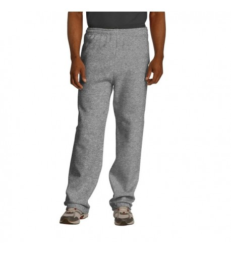 Jerzees Dri Power Pocketed Open Bottom Sweatpants