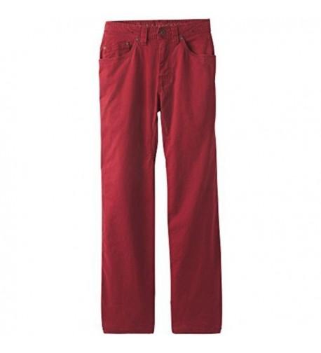 prAna Bronson inseam Pants Crimson
