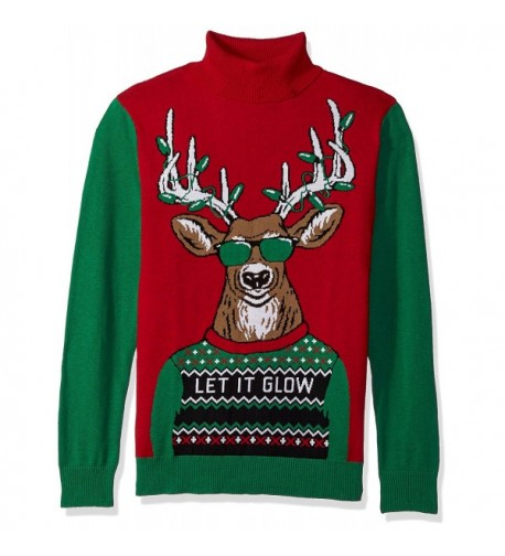 baf1151f70af Ugly Christmas Sweater - Reindeer Threesome Sweater By - CD110WHUBUR