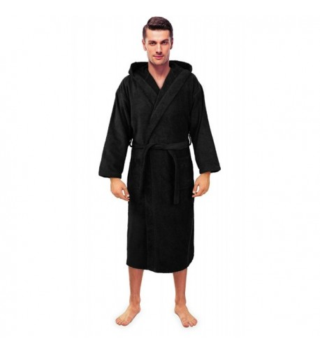 Turkuoise Turkish Terry Hooded Bathrobe
