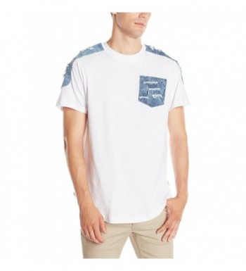 Southpole Scallop T Shirt Details Combined