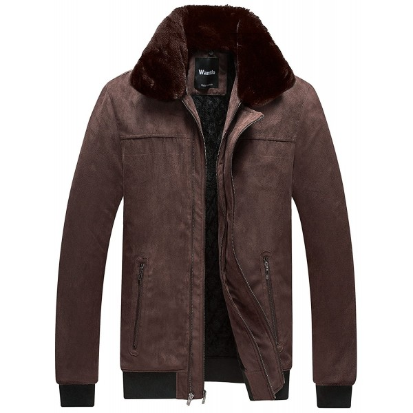 Details about  /New Winter Clothes Men/'s Trendy Cotton-Padded Jacket Zipper Hooded ZHQ03