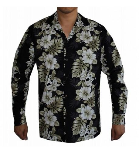 Sleeve Floral Panel Hawaiian Aloha