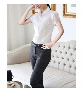 a9948c15 Available. Taiduosheng Women Button Sleeve Blouse; Cheap Real Women's  Blouses for Sale; Cheap Designer Women's Button-Down ...