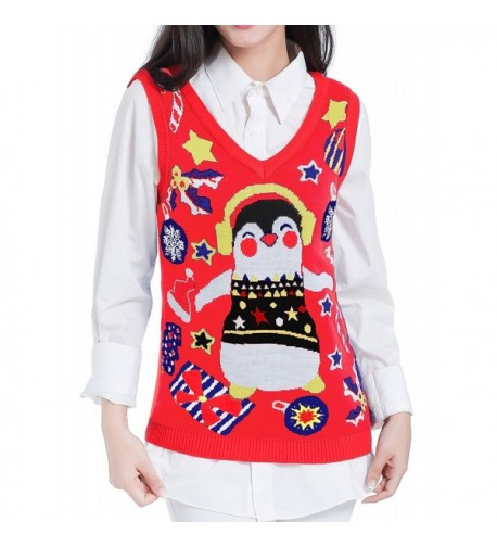 V28 Christmas Sweater Women Vintage