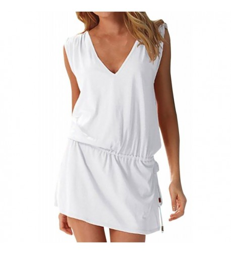 Sierry Womens Beach Backless Dresses