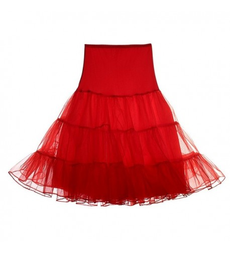 CINDY LOVER Womens Petticoat Casual