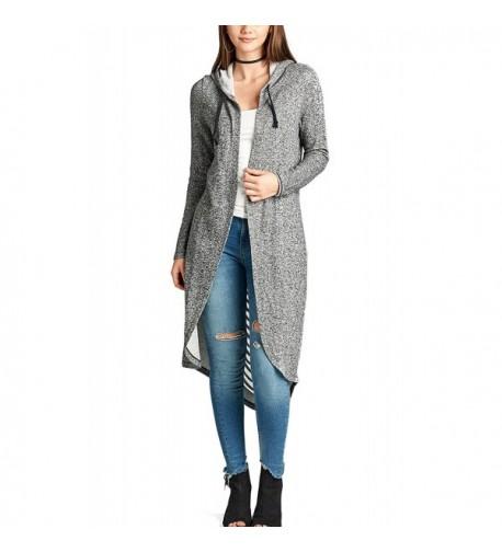 Womens Sleeve Cardigan French 91_CHARCOALGREY