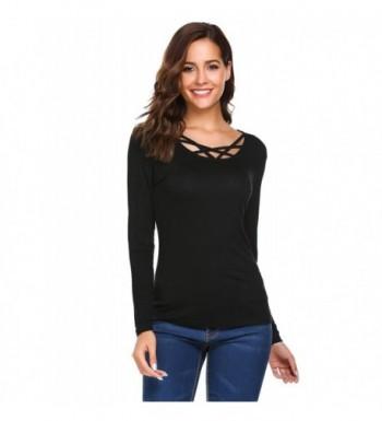 zeagoo Womens Sleeve Casual T Shirt