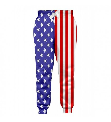 Leapparel American Workout Clothes Sweatpants
