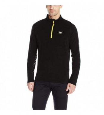Caterpillar Concord Fleece Pullover black