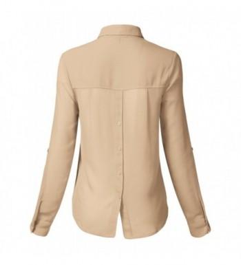Fashion Women's Button-Down Shirts Clearance Sale