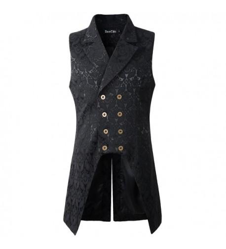 DarcChic Breasted Waistcoat Brocade Steampunk
