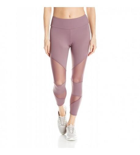 Onzie Womens Mesh Capri Purple