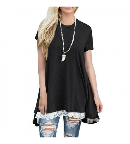 Dewapparel Womens Casual Sleeve Blouse