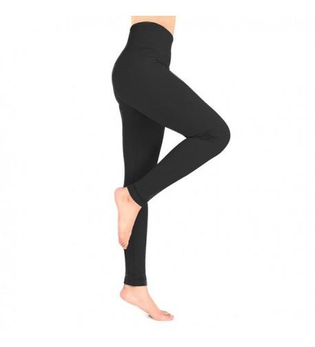 Ypser Fleece Leggings Slimming Elastic