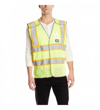 Caterpillar 5 Point Breakaway Safety Hi Vis