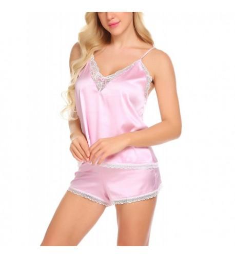 Skylin Sleeveless Pajamas Camisole Sleepwear