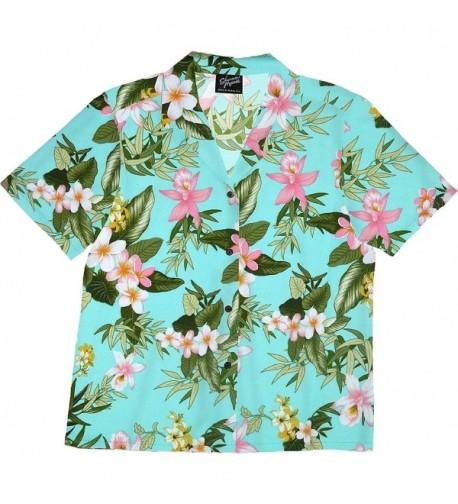 RJC Womens Orchid Plumeria Shirt