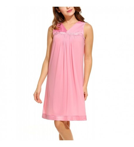 HOTOUCH Womens Nightgown Sleeveless Perfumed