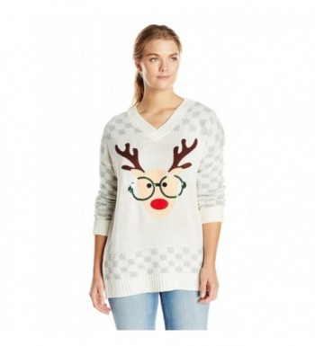 Derek Heart Plus Size Reindeer Christmas