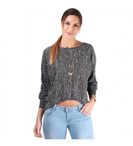 KRISP Batwing Sweater Size 6514 CHA SM