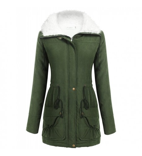 Macr Womens Thicken Cotton Padded Outwear