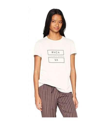 RVCA Juniors Loose Vintage White