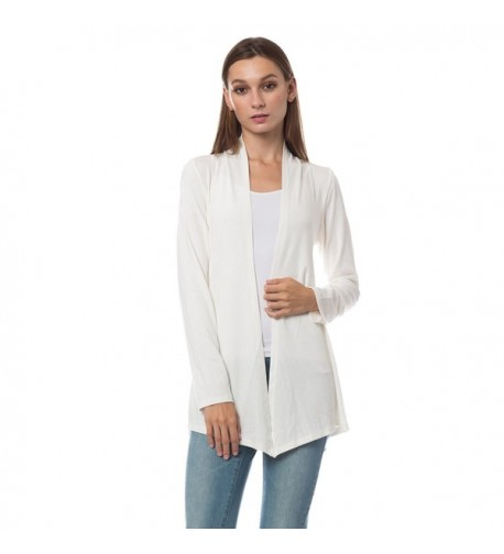 LE3NO Womens Sleeve Front Cardigan