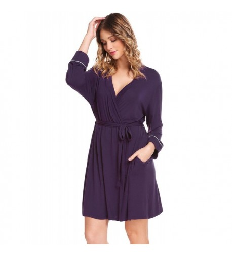 Adidome Womens Bathrobe Comfort Sleepwear