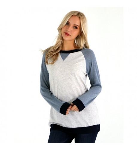 Preppy Doll Colorblock Pullover Sweatshirt