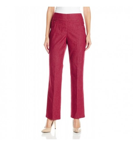 Ruby Rd Colored Stretch Bootcut