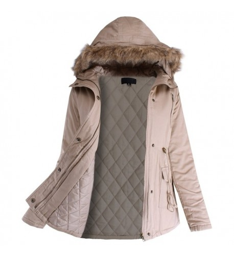 Ladies Code Hooded Outwear Padding