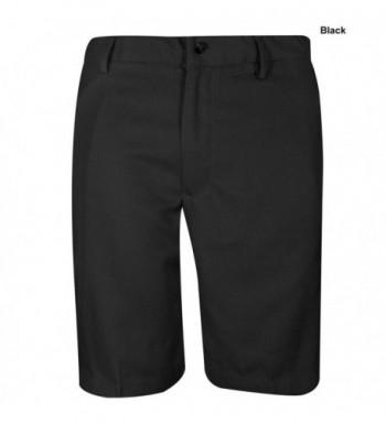 Greg Norman Front Shorts Black